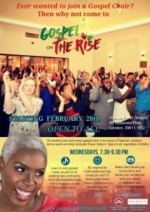 Gospel on The Rise 2018 Poster